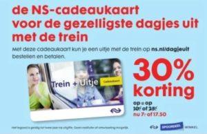 Bespaar tot 2 jaar lang 30% op Spoordeelwinkel treinacties