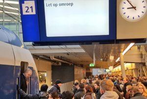 NS: Neem niet de trein richting Utrecht en Amsterdam