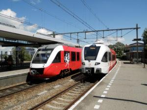 Kleine reizigersgroei op regionaal spoor (+1,1%): regionaal grote verschillen