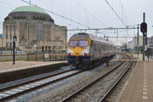 Staking bij Belgische en Franse spoorwegen