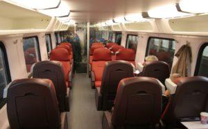 1e klas treinkaartje voor € 25