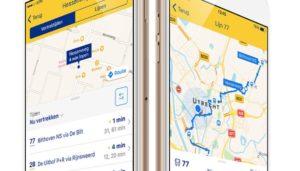 NS app geeft nu ook reisadvies van deur tot deur