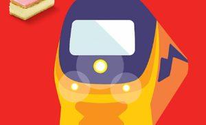 HEMA-treinkaartje (dagretour) € 17,50