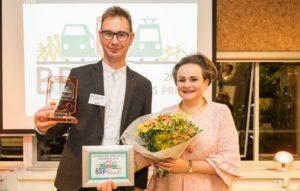 Treinreiziger.nl wint Blije Reizigersprijs 2017