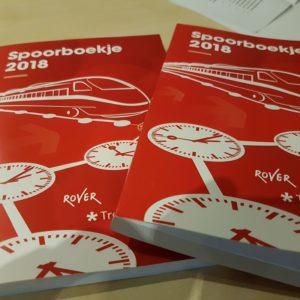 Verkoop Spoorboekje 2018 van start: ook intercityboekje