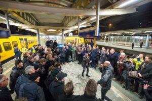 In beeld: NS neemt afscheid van diesellijnen