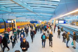 Record: 86% reizigers geeft NS rapportcijfer 7 (of hoger)