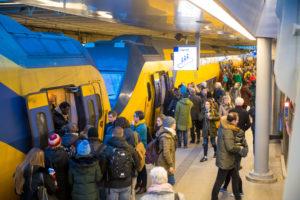 NS wil subsidie voor spreiding reizigers