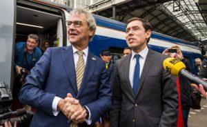 Eerste officiële Eurostar vertrokken. Verkoop tickets uitgesteld