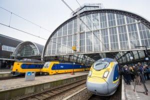 Eurostar start verkoop voor trein Londen – Amsterdam