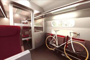 Thalys: Nieuw design, fietsplek en meer zitplaatsen