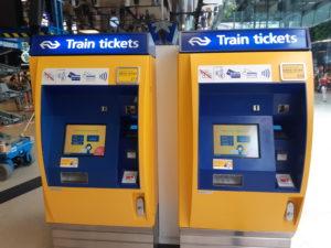 NS-kaartautomaat verdwijnt op Arriva-stations