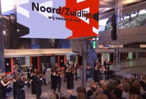 GVB: Gebruik Noord/Zuildijn blijft licht groeien