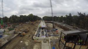 Werkzaamheden Driebergen: Extra spoor en een overweg minder