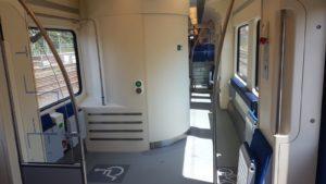 Eerste vernieuwde Sprinter (SLT) met wc op het spoor