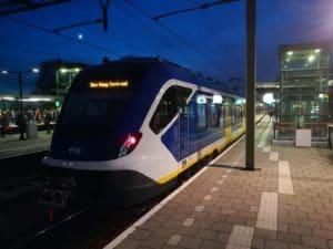 Nieuwe Sprinter (SNG) maakt eerste kilometers in reizigersdienst