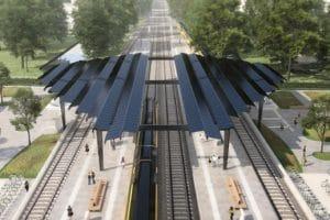 Delft-Zuid wordt eerste energieneutrale treinstation