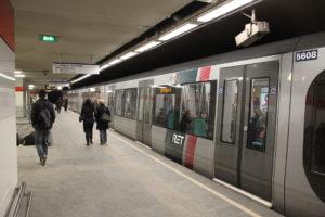 Cijfers metro: Rotterdam Beurs is drukste metrostation van Nederland