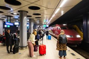 Tweede Kamer: Trein in plaats van vliegen naar Brussel