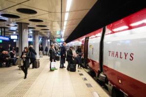 Bezettingsgraad Zon-Thalys 94%: trein vaak uitverkocht