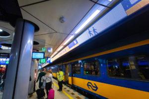Voor € 14,50 per trein naar België (bij 2 personen)