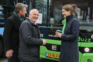 Qbuzz koopt 164 elektrische bussen voor Noord-Nederland