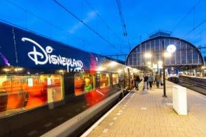 Thalys naar Disneyland stuwt reizigersgroei