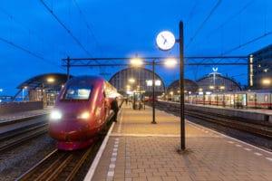Fors minder internationale treinen van en naar Nederland