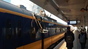 NS: Stel reis van / naar / via Amsterdam Zuid indien mogelijk uit