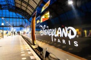 Eerste Thalys naar Disneyland vertrokken