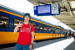 Nieuw record: 1413 unieke treinkilometers in 18 uur