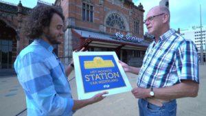 Groningen uitgeroepen tot mooiste station van Nederland