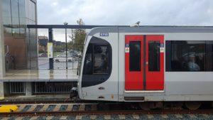 Hoekse Lijn: 23.000 in- en uitstappers en volle metro's