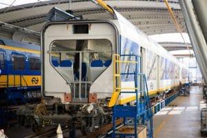 NS viert 180 jaar spoor met open dag in Haarlem