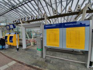 Hinder door spoedreparatie spoor Rotterdam