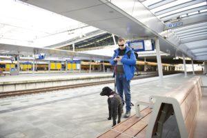 NS-Perronwijzer: App voor slechtziende treinreiziger