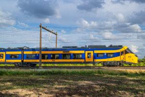 Eerste nieuwe intercity (ICNG) aangekomen in Nederland