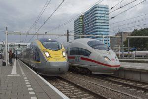 Eurostar Londen – Brussel – Amsterdam v.v. opgeheven