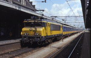 NS-loc 1600 veertig jaar in Nederland