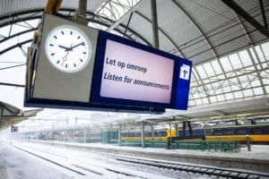 Heel de dag geen treinen: Treinverkeer wordt zondag niet meer hervat