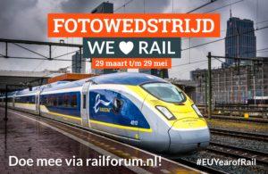 Fotowedstrijd We love Rail: Railforum zoekt de mooiste spoorfoto's